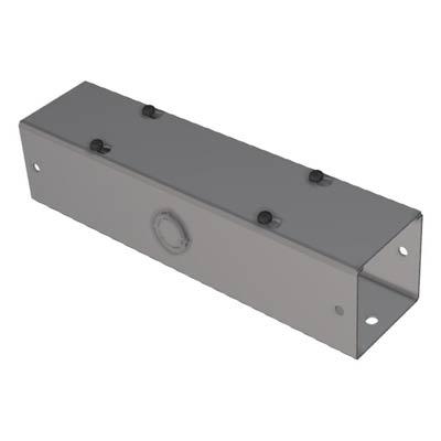 "Hammond CWSC212 2.5x2.5x12"" Metal Lay-In Wireway w/Lift-Off Cover"