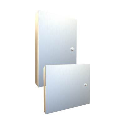 "Hammond 1481SSDH1418 12x15"" Stainless Steel HMI Cover Kit"