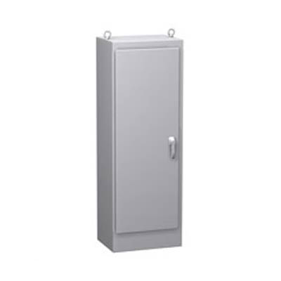 "Hammond Manufacturing HN4FS602418SS 60x24x18"" 304 Stainless Steel Free Standing Electrical Enclosure"