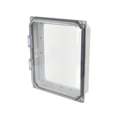 "Hammond 10x8"" Polycarbonate HMI Cover Kit for Enclosures 