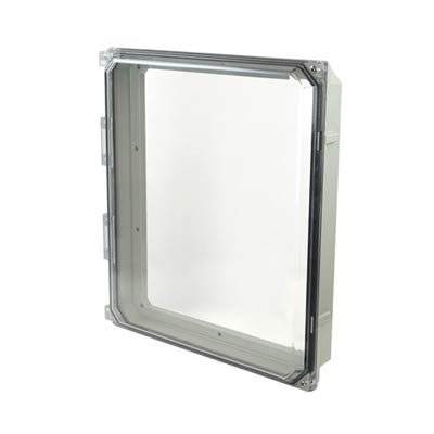 "Hammond 14x12"" Polycarbonate HMI Cover Kit for Enclosures 