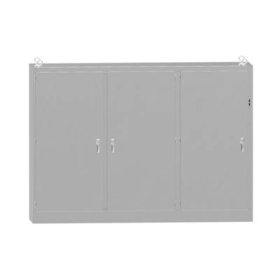 """Hammond Manufacturing 3UHD7210118N4SS 72x100x18"""" 304 Stainless Steel Free Standing Disconnect Electrical Enclosure"""