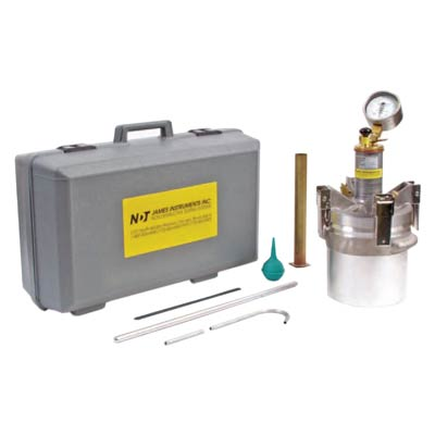 James Instruments A-AB-1200 Type B Concrete Pressure Air Meter Complete System