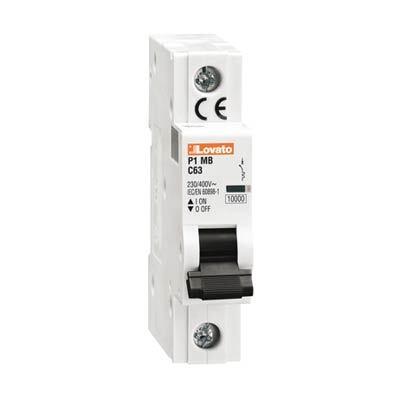 Lovato P1MB1PC01 Miniature Circuit Breaker