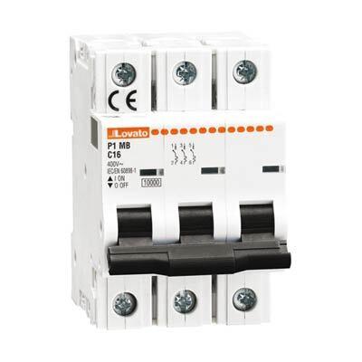 Lovato P1MB3PC50 Miniature Circuit Breaker