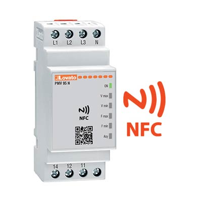 Lovato PMV95NA240NFC Multifunction Monitoring Relay