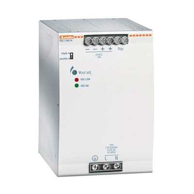 Lovato PSL124024 Single-Phase DIN Rail Switching Power Supply