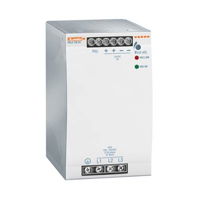 Lovato PSL312024 Three-Phase DIN Rail Switching Power Supply