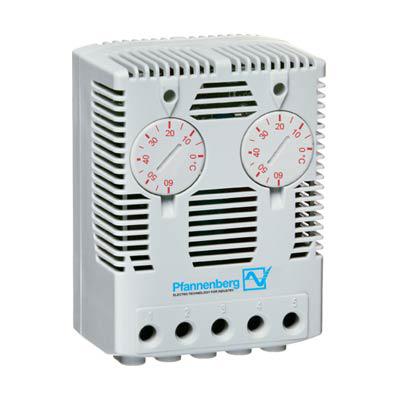 Pfannenberg 17142000000 Dual Enclosure Thermostat