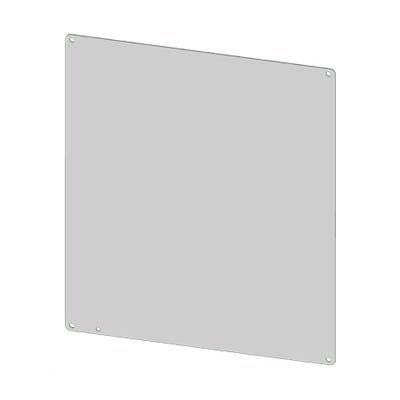"""Saginaw Control & Engineering SCE-10P8 Steel Back Panel for 10x8"""" Electrical Enclosures"""