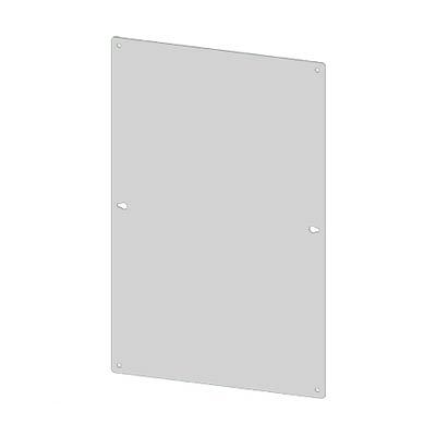 "Saginaw Control & Engineering SCE-10N10MP Steel Back Panel for 10x10"" Electrical Enclosures"