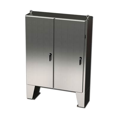 """Saginaw Control & Engineering SCE-60XEL4912SS6LP"""" 316 Stainless Steel Disconnect Enclosure"""