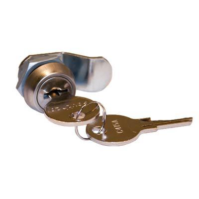 Saginaw Control & Engineering SCE-L Key Locking Quarter-Turn Latch