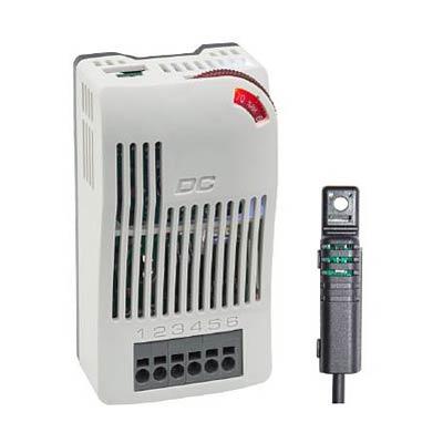 Stego 01012.0-22 Adjustable Electronic Hygrostat 40-90% RH, 20-56 VDC