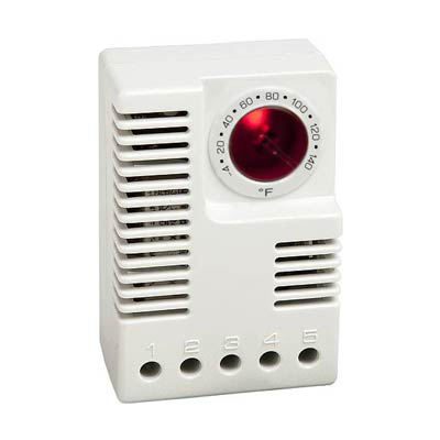Stego 01131.9-00 Dual Electronic Enclosure Thermostat