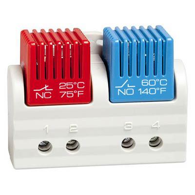 Stego 01163.0-01 Dual Tamperproof Enclosure Thermostat