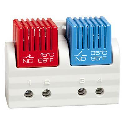 Stego 01163.0-02 Dual Tamperproof Enclosure Thermostat