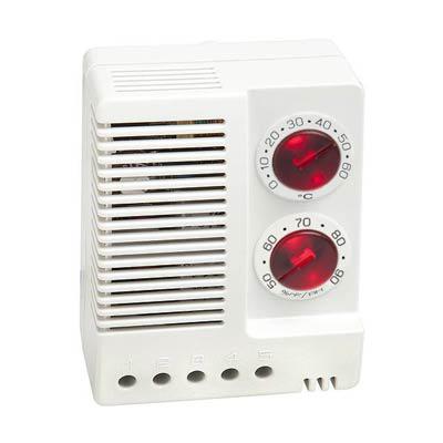 Stego 01230.0-00 Adjustable Electronic Hygrotherm, 0-60 C/50-90% RH