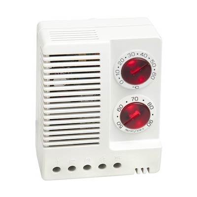 Stego 01230.1-00 Adjustable Electronic Hygrotherm, 0-60 C/50-90% RH