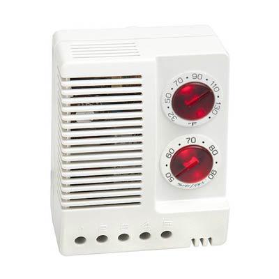 Stego 01230.9-00 Adjustable Electronic Hygrotherm, 32-140 F/50-90% RH