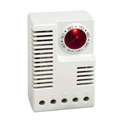 Stego 01245.9-00 Adjustable Electronic Hygrostat 40-90% RH, 120 VAC