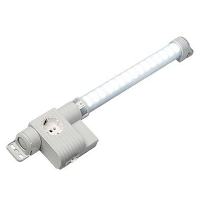 Stego 12124.0-00 LED Enclosure Light with Receptacle