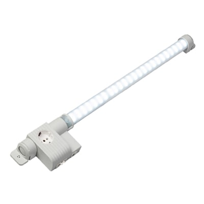 Stego 12224.0-00 LED Enclosure Light with Receptacle